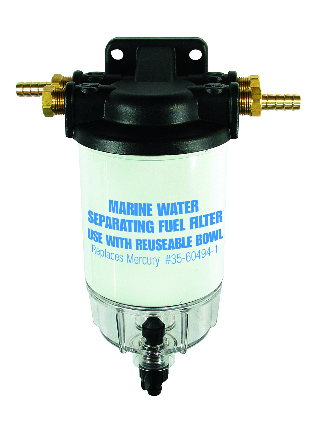 Buy Fuel Filter Complete With Sight Glass Boating Outdoors Mercury Product Image For