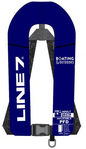 Line 7 Inflatable Lifejacket - 2 for $169.95